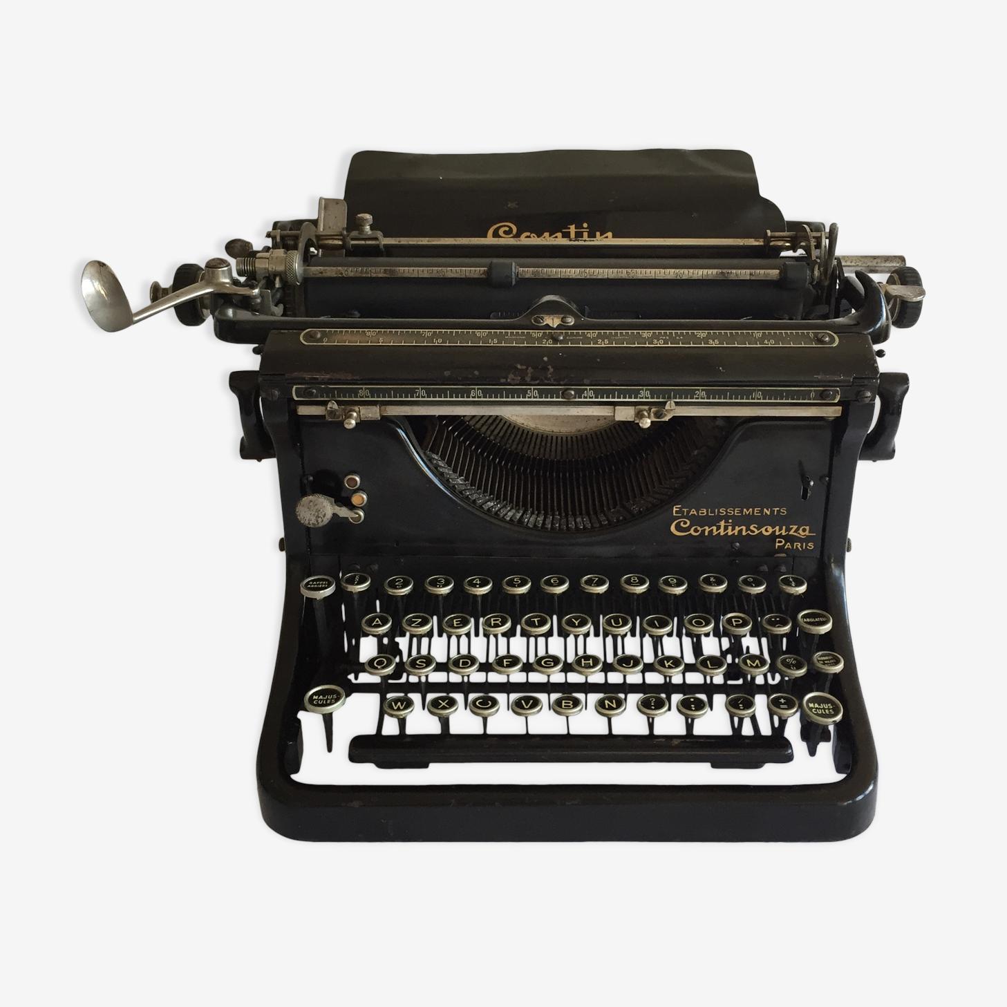 Typewriter contin 1920