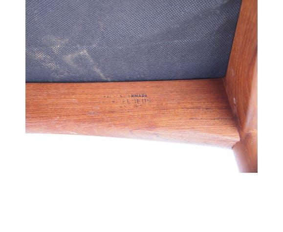 Lot de 4 chaises scandinave danoise Koefoeds vintage