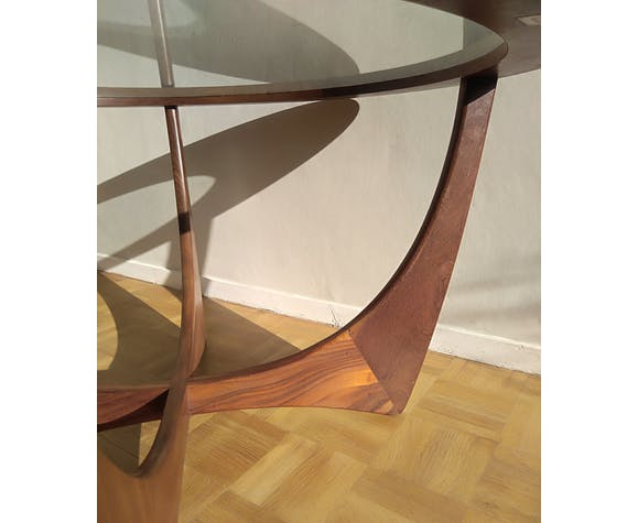 Astro round teak coffee table by Victor Wilkins for G Plan Edition - 1960