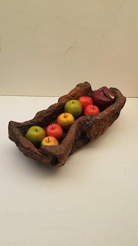 Vintage wood platter