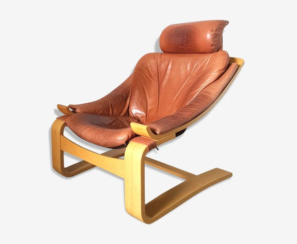 9feec0eab Kroken de Luxe lounge chair for Nelo Möbel by Ake Fribytter ...