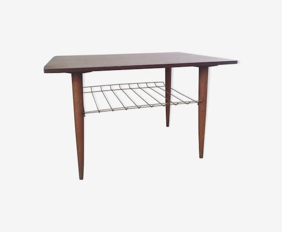 Table basse scandinave estampillée