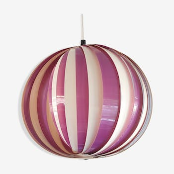 """moon"" pendant light white with purple, 80, Danish"