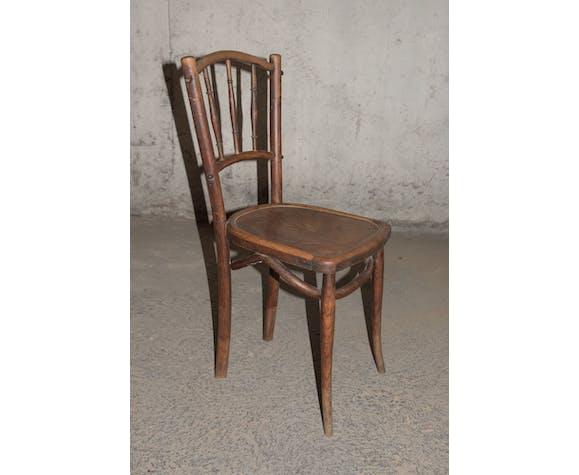 Série de 5 chaises de bistrot - début XXème s