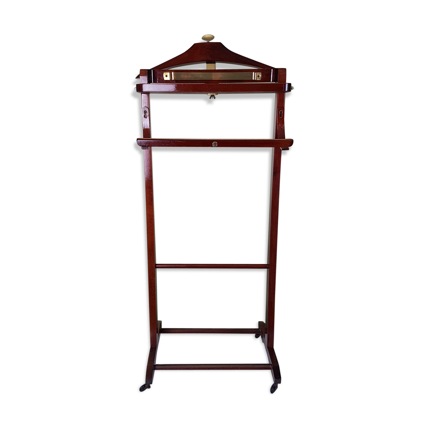 valet de chambre ancien valet de nuit bois ancien avec. Black Bedroom Furniture Sets. Home Design Ideas