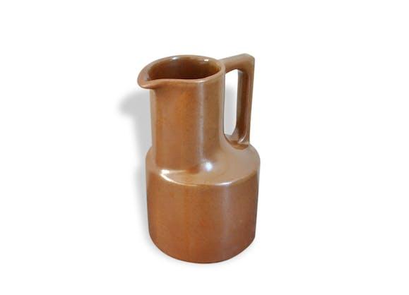 Pichet c ramique gr s vintage brenne 70 39 s c ramique - Gres ceramique ...
