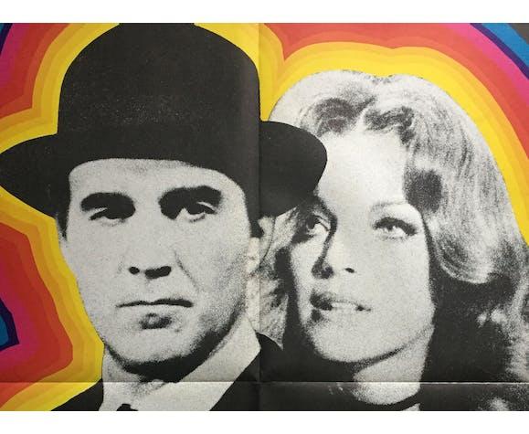 Affiche cinéma Max et les Ferrailleurs Romy Schneider 60x80cm