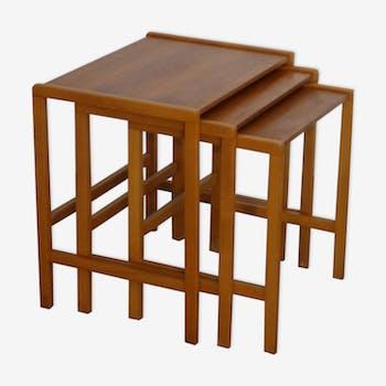 Tables gigognes scandinave 1960
