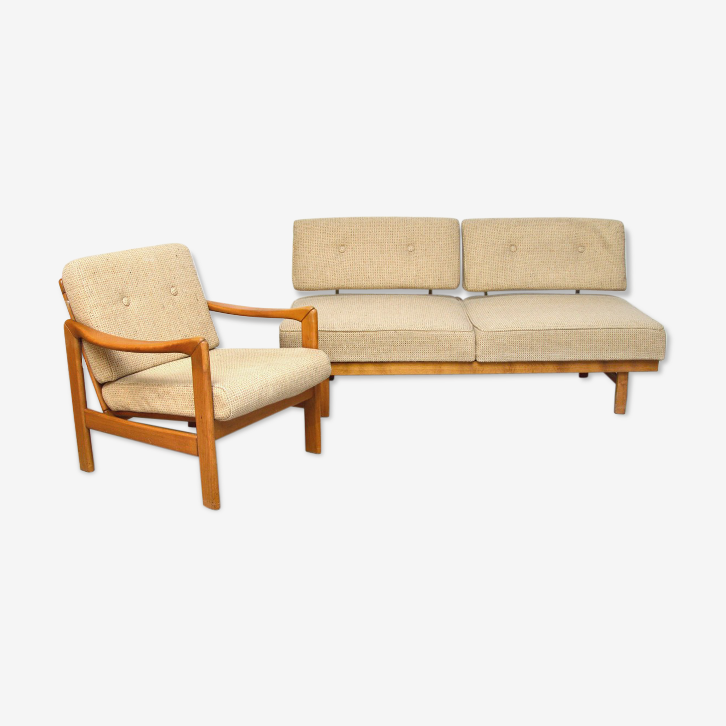 Ensemble daybed scandinave 1960