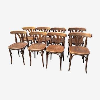 Set 8 chaises bistrot