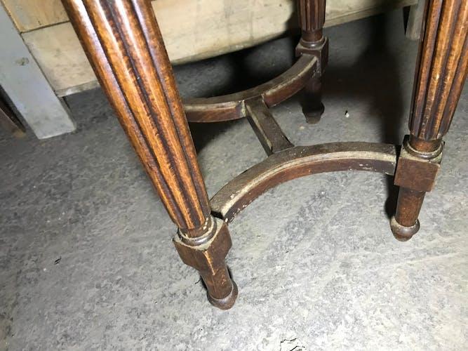 Louis XVI piano stool 1900