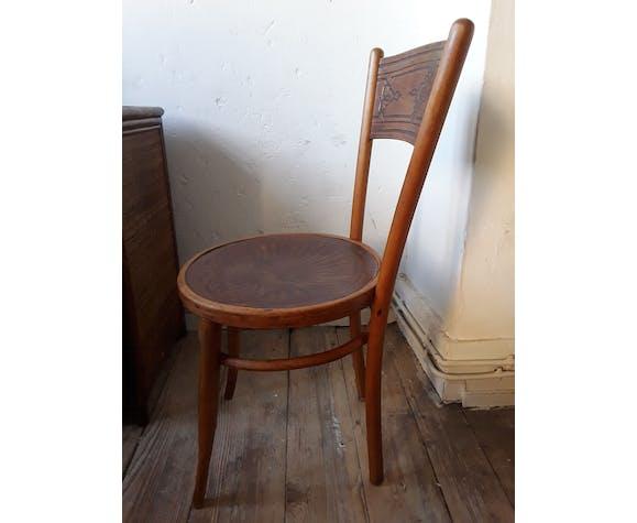 Chaise bistrot vintage années 50/60