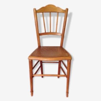Chair Bistro décor crocodile light wood