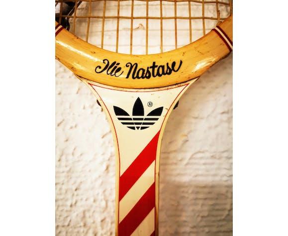 Napier Permanentemente Excepcional  Adidas Ilie Nastase vintage racket | Selency