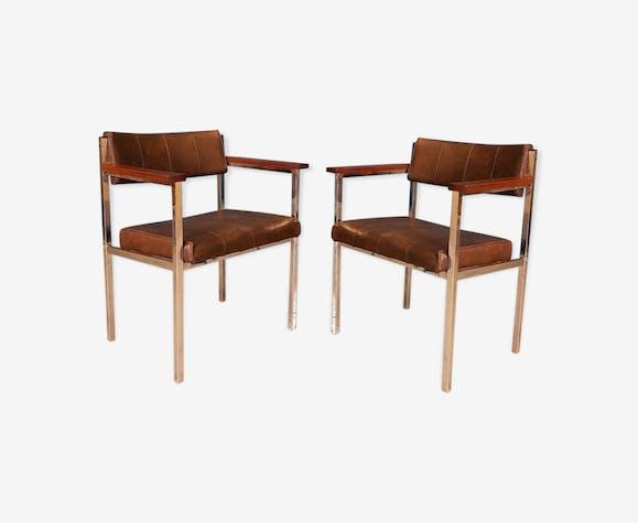 Pair of vintage armchairs, 1970s