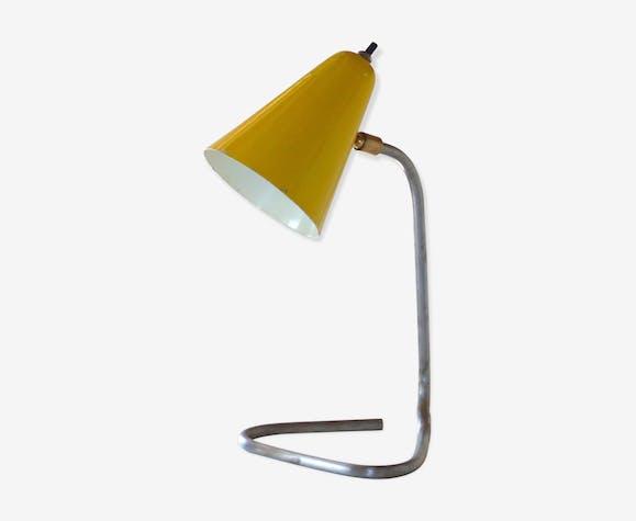Lampe cocotte vintage jaune