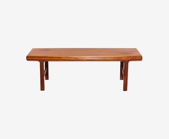 Table basse palissandre design scandinave 1950