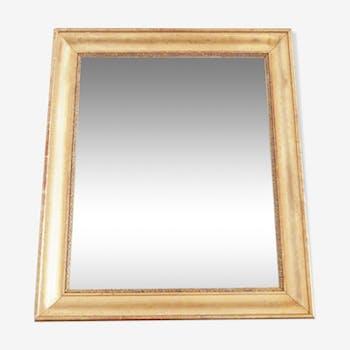 Miroir doré XIXe  Louis - Philippe