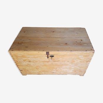 Coffre malle caisse en bois