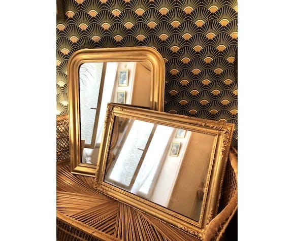 Miroir ancien XIXème à décor