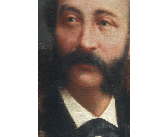 Portrait d'un dandy à la fourrure