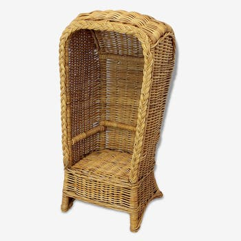 Chair high back Wicker for child
