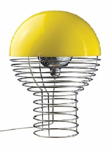 Lamp by Verner Panton produced by Frandsen Lighting, designed in 1972