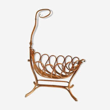 Old cradle by Jacob and Joseph Khonh, late 19th century