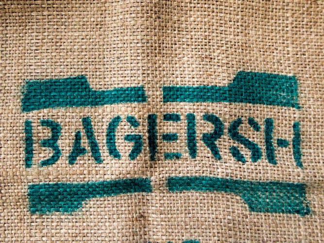 Sac en toile de jute « Bagersh Produce of Ethiopia »