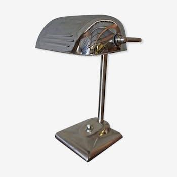 Lampe chromée, années 1930