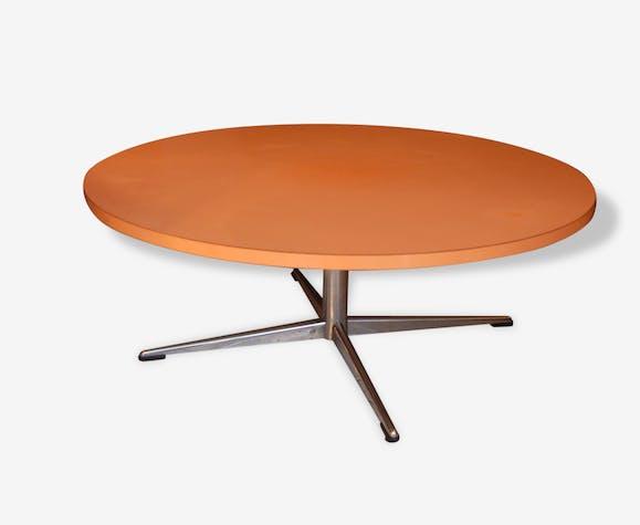 Table Basse Vintage Formica Orange Style Eames Formica