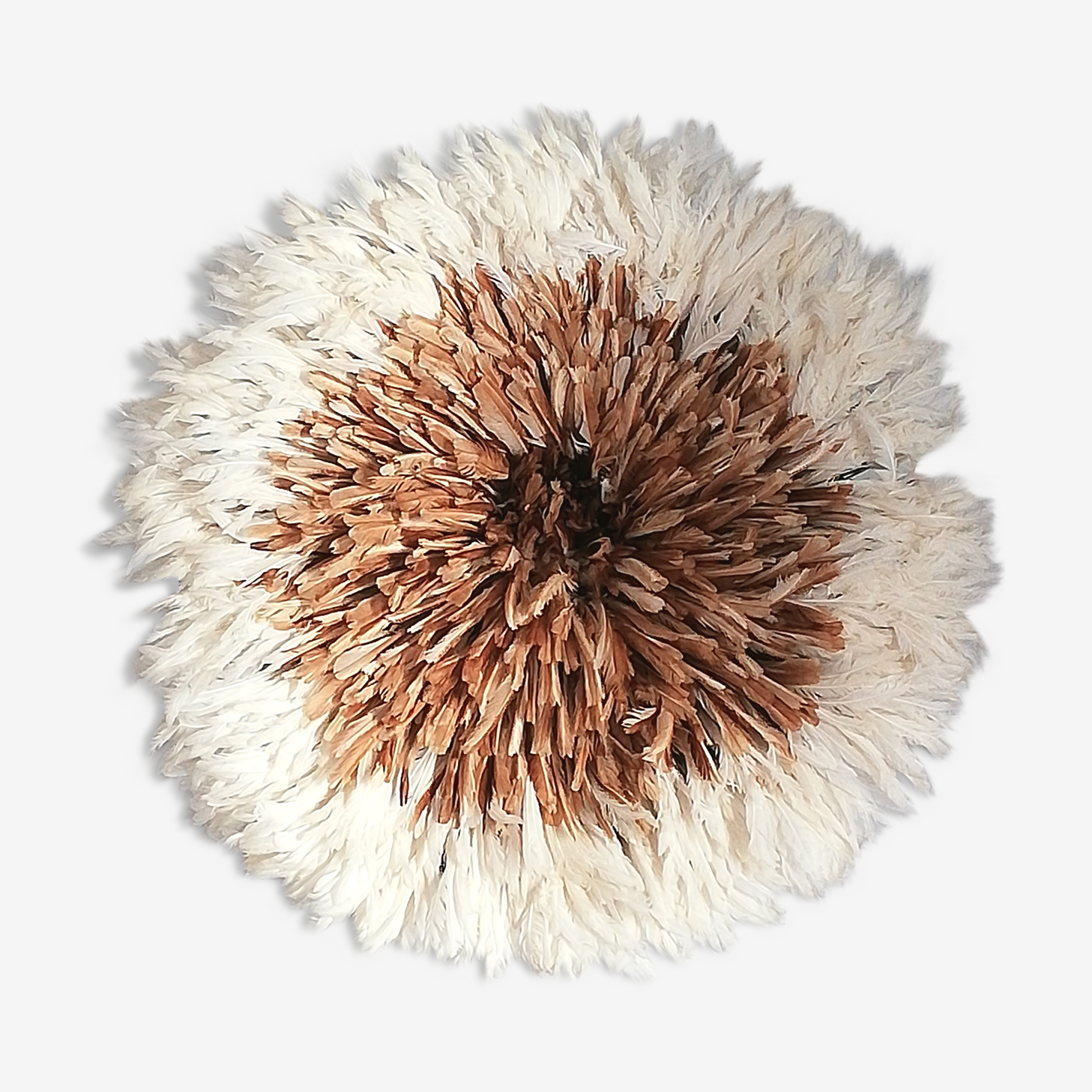 Juju hat naturel et blanc 75cm