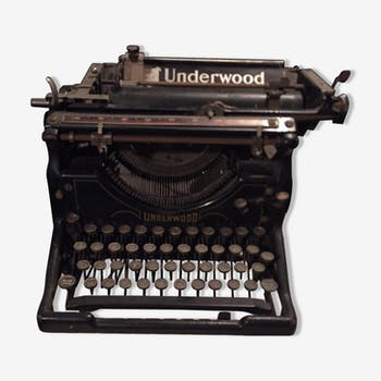 Machine crire ancienne vintage d 39 occasion - Machine a ecrire underwood ...