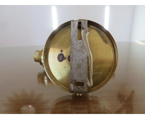 Applique main torchère en laiton doré années 50/60