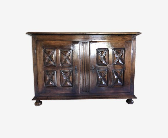 Sideboard in solid wood