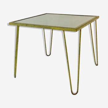 Raoul Guys - table à manger libre moderniste, France, Airborne 1954