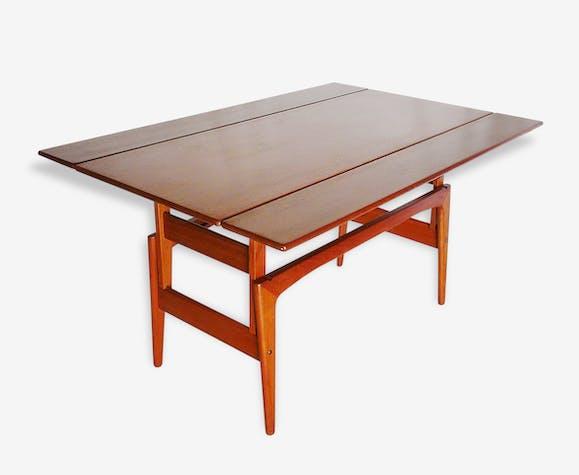 Table Basse Scandinave Métarmorphique Teck Bois Couleur