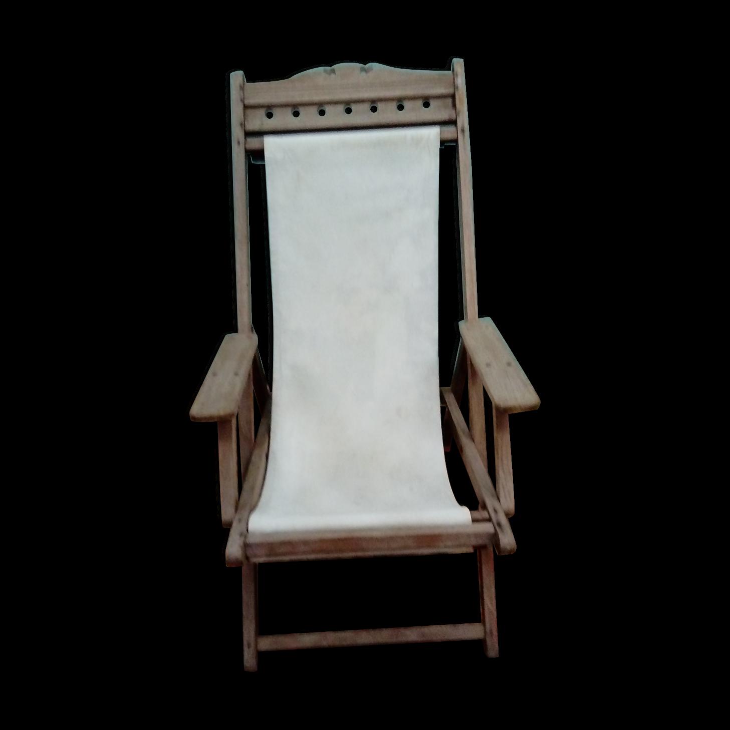 chaise longue en teck interesting transat bain de soleil. Black Bedroom Furniture Sets. Home Design Ideas