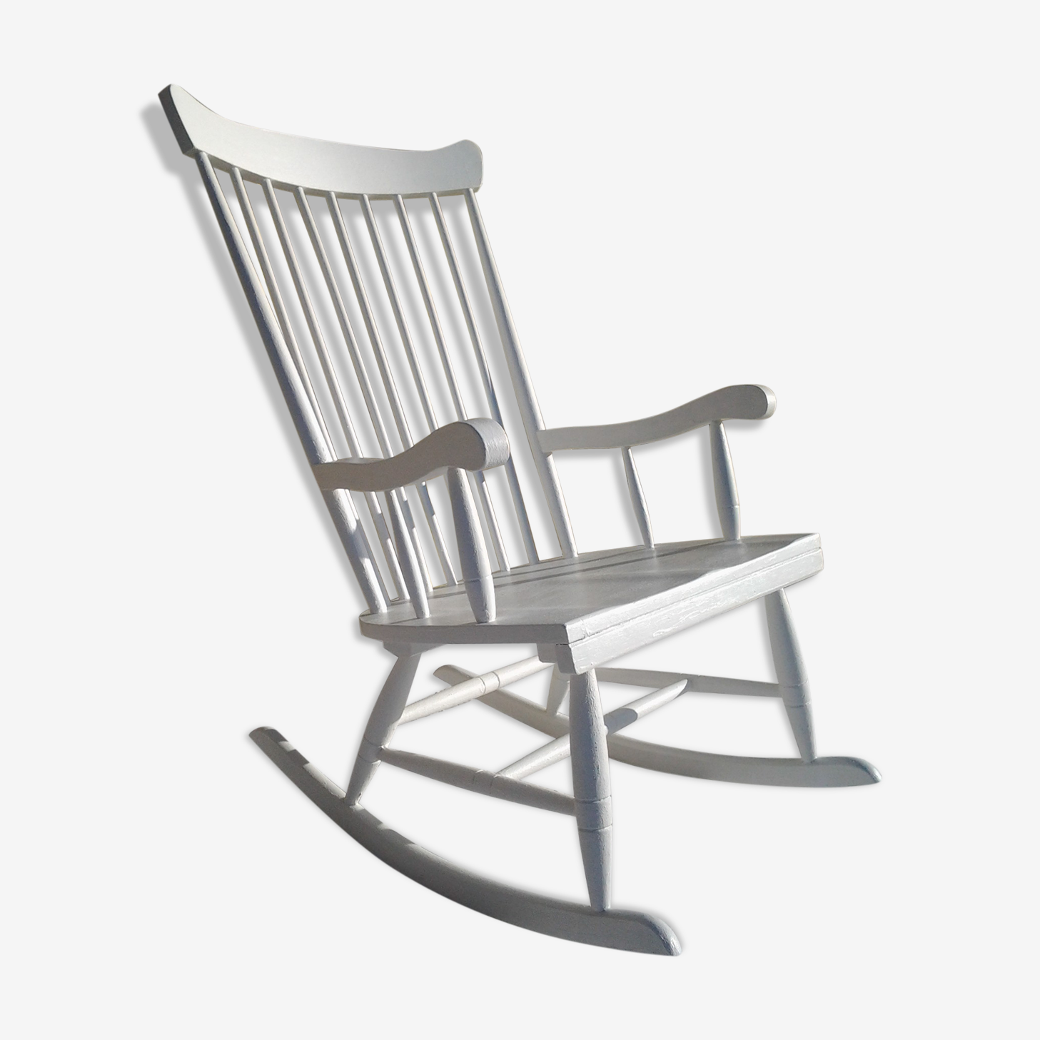 Scandinavian rocking chair 1960