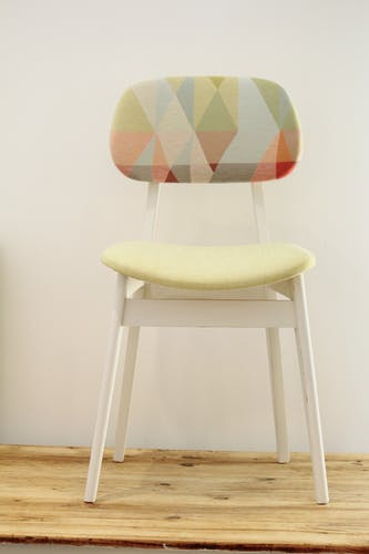 Chair 50 years graphic patterns
