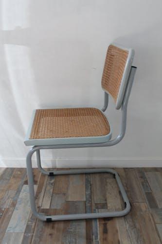 Lot 6 chaises Cesca B32 par Marcel Breuer