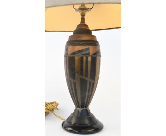 Pair Of Art Deco Style Lamps Selency