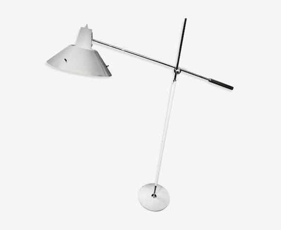 Stilux floorlamp painted aluminium /steelcounterbalance adjustable