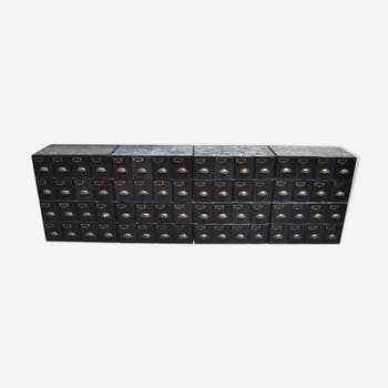 Ensemble de 8 casiers de rangement à 8 tiroirs