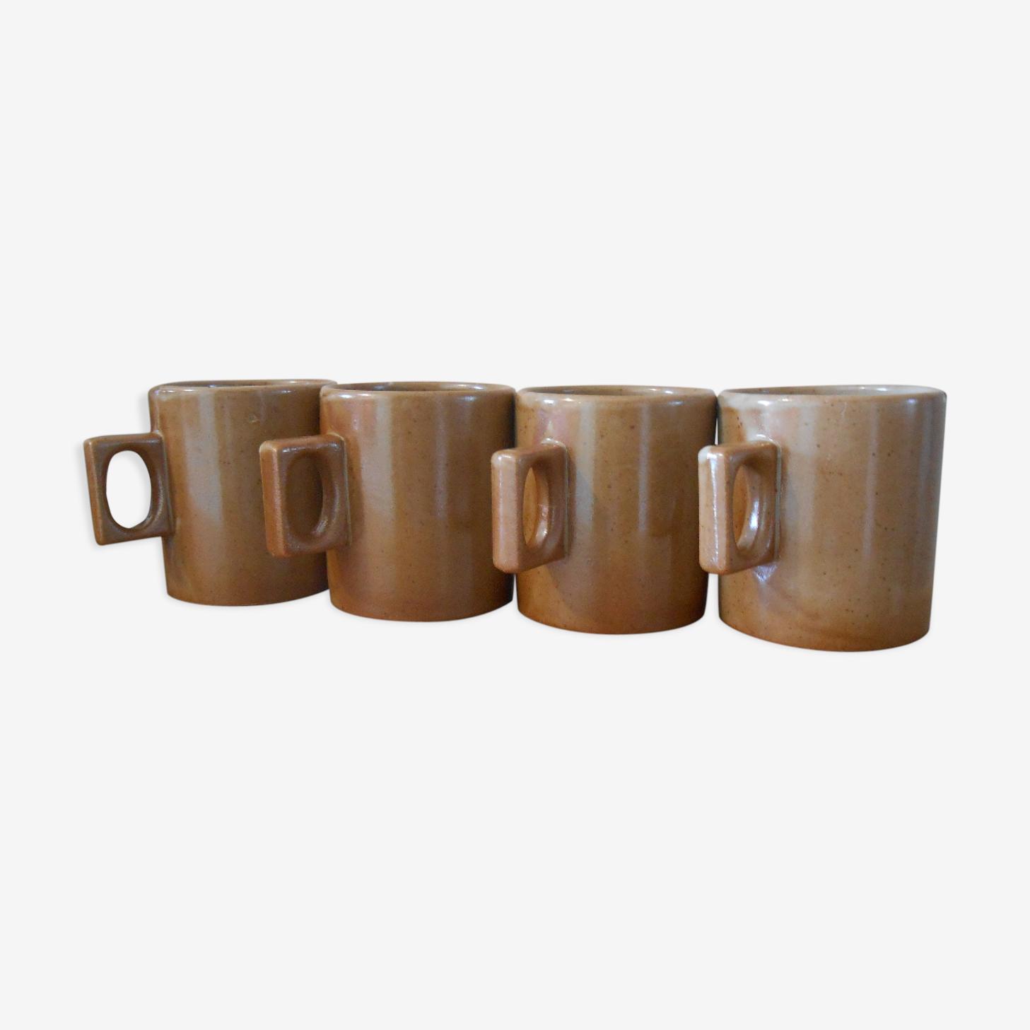 France sandstone, Brenne mugs