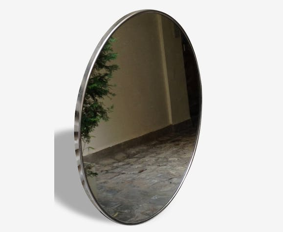 Miroir mural circulaire vers 1970