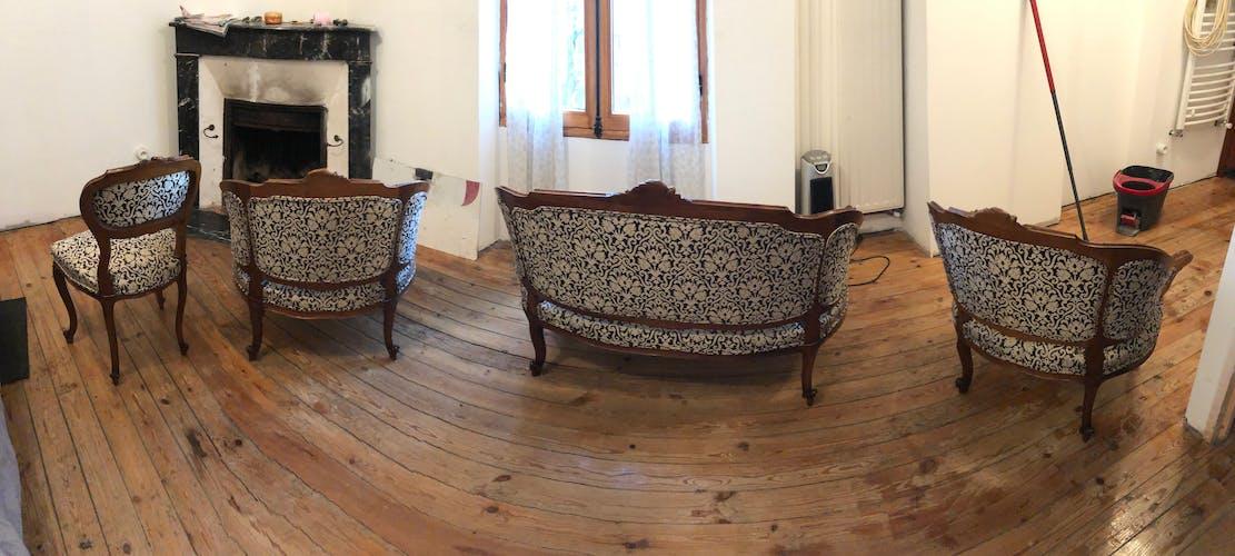 Napoleon lll style lounge