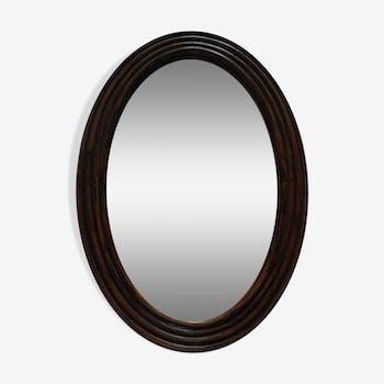 Miroir ovale 28x41cm