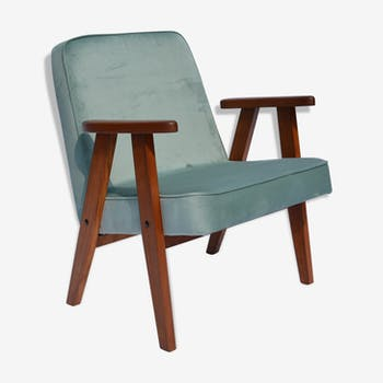 Chair signed 366 Chierowski in Velvet mint