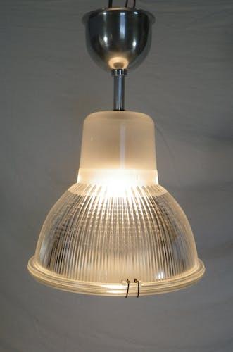 Holophane ancien plafonnier lampe vintage
